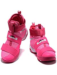 6e16cee9ce8 Men s Women s Air Zoom Basketball Shoe Soldier 10 Basketball Trainers  Sneaker - Hot Pink