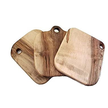 Large Square Ambrosia Maple Wood Cutting Board