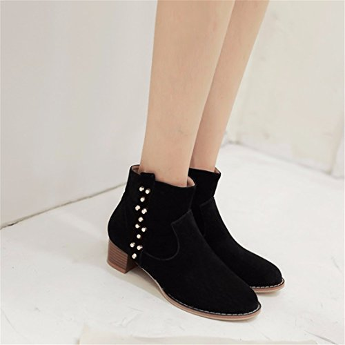 with Winter big boot boots Boots Suede code Black girls q6wWF4Hq