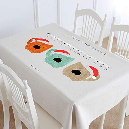 A 140180cm Myzixuan Nouvelle Table tissu coton chanvre tissu rectangulaire restaurant nappe linge de Table à café Cafe