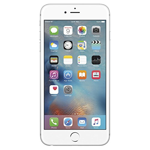 Apple iPhone 6s Plus Unlocked GSM 4G LTE Smartphone with 12MP Camera,   128 GB (Silver)