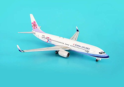 PHOENIX PH460 CHINA AIRLINES AIRBUS 737-800 1/400 50TH LIVERY 1/400 REG B-18606 .HN#GG_634T6344 - Phoenix China Airlines