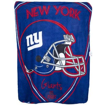 The Northwest Company Team Logo Soft Fleece Throw Blanket, 40 in x 50 in (New York Giants) ()