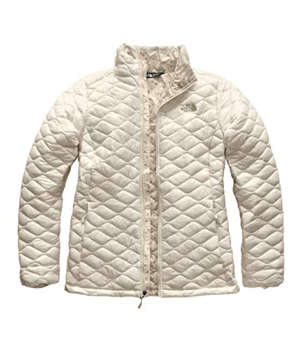 (The North Face Thermoball Insulated Jacket - Women's Vintage White, M)