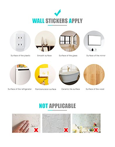 Eoorau 80PCS Butterfly Wall Decals - 3D Butterflies Decor for Wall Removable Mural Stickers Home Decoration Kids Room… 6