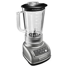 KitchenAid KSB1570 5-Speed Stand Blender, Silver