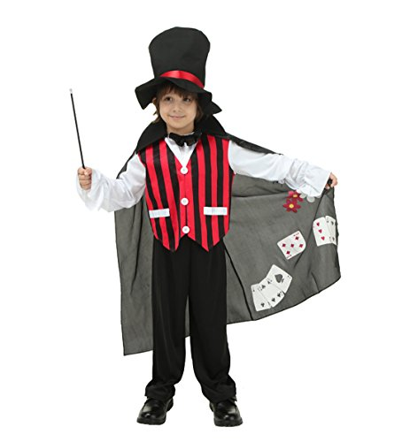 Magician Images Costume (ROMASA Cosplay Magician Role Play Costume Set (9-10 /)