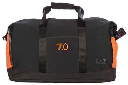 Emporio Armani EA7 borsa borsone tracolla fitness uomo palestra nylon blu