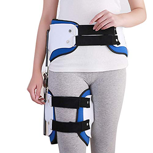 zinnor Hip Stabiliser Corrector Support Brace,Adult Hinged Hip Abduction Orthosis Protector for Hip Pain Relief