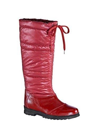 Botas de invierno Botas de piel en Rojo Rojo