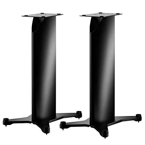 Dynaudio Stand 20 Speaker Stands for Bookshelf Speakers - Pair (Satin Black)