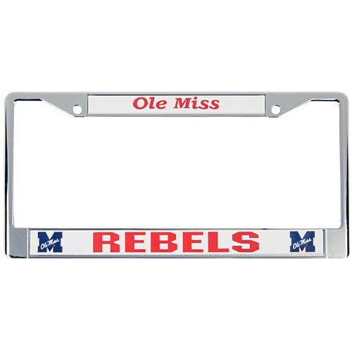 Ole Miss Rebels License Plate - 3