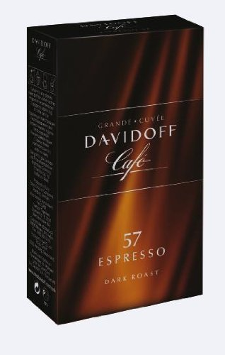 Davidoff Cafe Espresso 57 Ground Coffee, 8.8 Ounce Package (Davidoff Cafe)