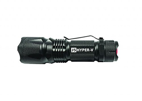 J5 Tactical - Hyper V Ultra Bright Tactical Flashlight Bright - Black
