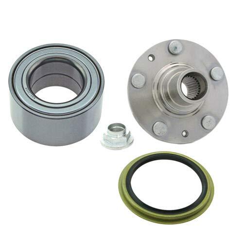 930650 513058 WS1932 3Pcs Front Wheel Hub, Bearing & Seal Assembly forKia Sedona EX LX 3.5L V6