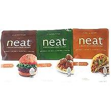 Neat Vegetarian Mix Variety 5.5 Ounce Packs: Original, Italian, Mexican (1 of each)