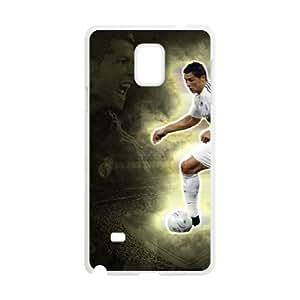 Samsung Galaxy Note 4 phone case White Cristiano Ronaldo FFFP2661426