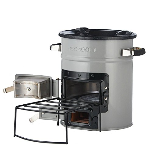EcoZoom Versa Camping Stove - Portable Wood Burning Camp Stove for Backpacking, Hiking, RV and Survival, no Gas or Electricity needed! (Survival The Stove)
