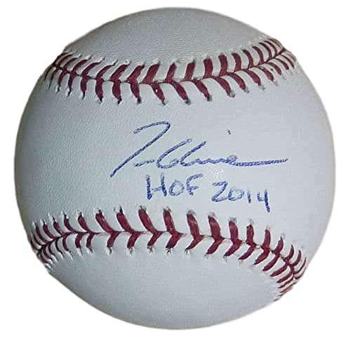 (Autographed Tom Glavine Ball - OML HOF 11398 - JSA Certified - Autographed Baseballs)