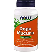 Now Foods Dopa Mucuna - 90 caps (Pack of 3)