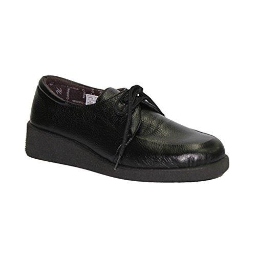 Zapato cordones pies muy delicados Doctor Cutillas en negro