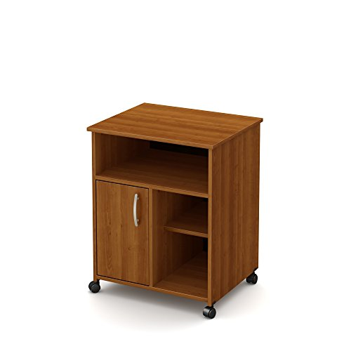 microwave cart cherry wood - 4