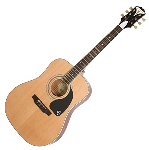 Price comparison product image Epiphone 6 String PRO-1 PLUS Acoustic,  Natural (EAPPNACH1)