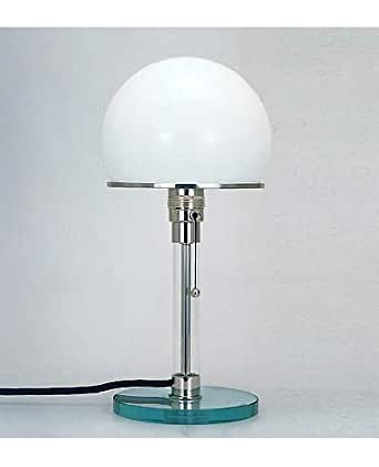 Wagenfeld bauhaus table lamp original 110 125v for Wagenfeld tischleuchte replica