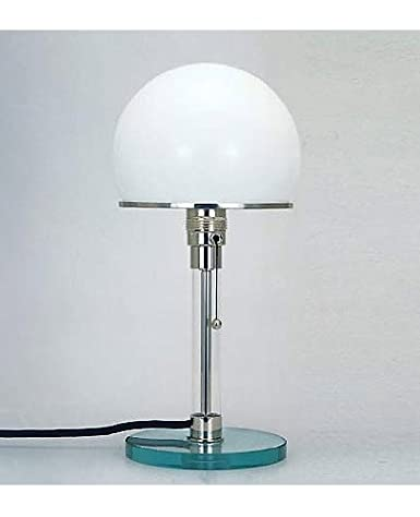 Wagenfeld Bauhaus Table Lamp Original 110 125v For Use In