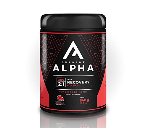 Supreme Alpha Advanced Post Workout Recovery for Men | BCAA's, Glutamine, L-Citruline, Vitamin D | for Healthy Life-Style