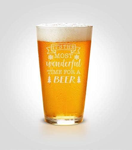 Bicchieri regalo di Natale per gli amanti della birra, tazze