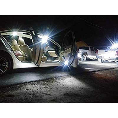Fyre Flys 15 Piece White LED Interior Lights for 2020 & Up Dodge Ram Super Bright 6000K 3014 Series SMD Package Kit and Install Tool: Automotive