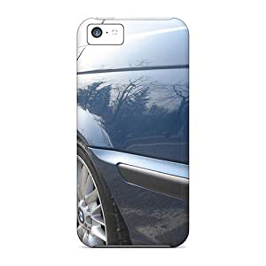 New Tpu Hard Cases Premium Iphone 5c Skin Cases Covers(bmw 330i Reflections)