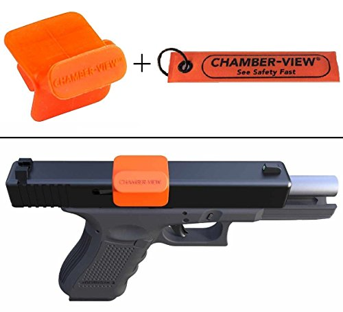 Ultimate Arms Gear Beretta 92, 96, PX4 Chamber-View 9mm .40 Cal Pistol Handgun Hand Gun Empty Chamber Safety Flag Load Indicator + Fast Pull-Tag