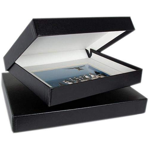 Archival Methods 17.25 x 22.25 x 1.37 Onyx Portfolio Box with Black Lining by Archival Methods (Image #2)