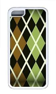 Argyle pattern Custom iPhone 6 plus (5.5) Case Cover TPU White