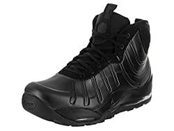 Nike Men's Air Bakin' Posite Blackabthraciteblackblack Boot 9 Men Us