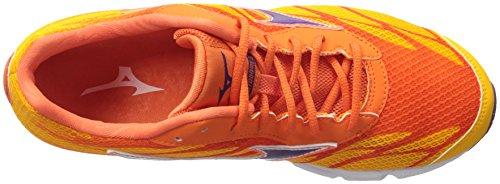 Women's Wave Shoe 3 Running Hitogami Pansy Citrus Mizuno 1qd6wPq