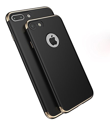 iPhone 8 / iPhone 7 Case , Acewin Premium Slim Fit Case Ultra Thin Hard Protective Case Cover for iPhone 8 / iPhone 7 (4.7 Inch) (Black)