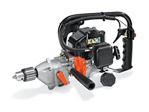 Tanaka Commercial Grade Gas Powered Gas Drill 26cc 1.3 HP 2-Stroke with Reversing Lever TED-262R