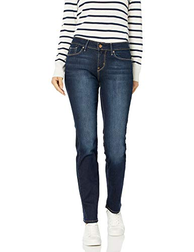 Signature by Levi Strauss & Co. Gold Label Women's Straight Jeans, Cosmos, 10 Medium