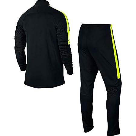 Nike Mens Dry Academy Football Tracksuit Chándal, Hombre, Black ...