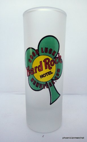 Hard Rock Hotel Las Vegas Nevada Good Luck Cordial Shot Glass