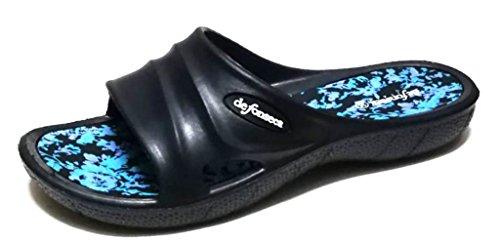 Femme fonseca Chaussons EU de Bleu 40 Bleu pour taw6qH6x