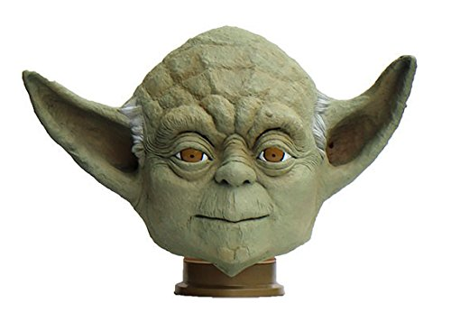 Darth Wars Star Vader Full Mask Deluxe (Yoda of Star Wars Full Face Rubber Mask Made in)