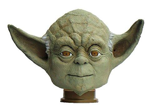 Star Wars Yoda Full Face Rubber Mask (Made in Japan) ()