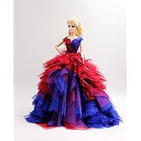 Cora Gu [Fit Barbie Doll Handmade The Chateau Dress/For...