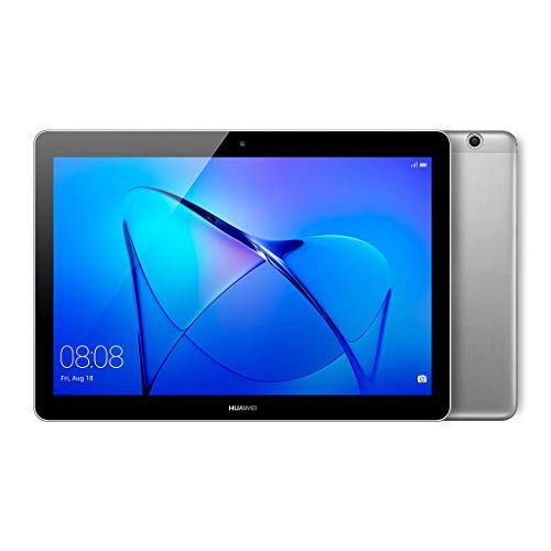 Huawei Mediapad T3 10 – Tableta 9.6″, HD IPS, WiFi, Procesador Quad-Core Snapdragon 425, 2GB RAM, 16GB Memoria Interna, Android 7, color Gris