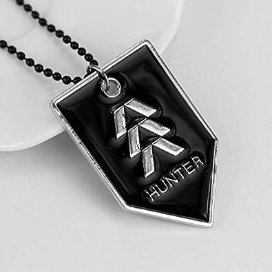 Destiny 2 Bungie Airplane Logo Colgantes Collares Letra ...