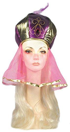 Lacey Wigs Arab Hat Blonde